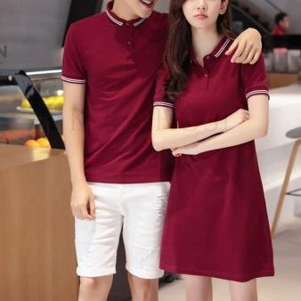 kirahosi 여름 커플룩 반팔 polo 스커트 티셔츠 5호